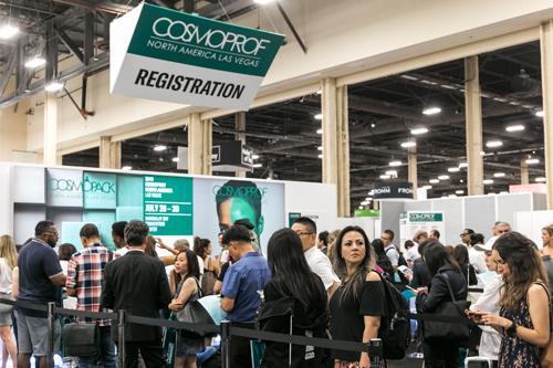 Cosmoprof north america 2020 | cosmoprof 2019 registration area | cosmoprof north america 2020